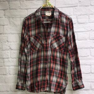 Denim & Supply Ralph Lauren Plaid Utility Flannel